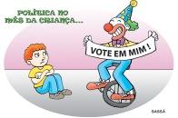 Eleições no mês das crianças